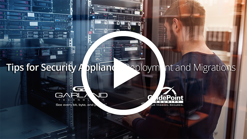 Tips for Security Appliance Deployment and Migration