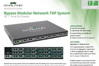 GTDS-BypassModularNetworkTAPSystem