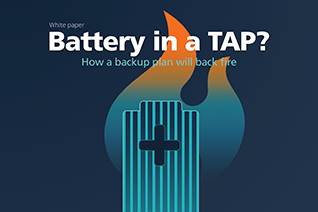 Battery in a tap?