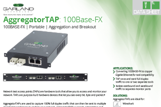 GTDS-AggreagatorTAP-100BaseFX