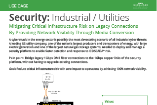 Security Use Case Industrial Utilities