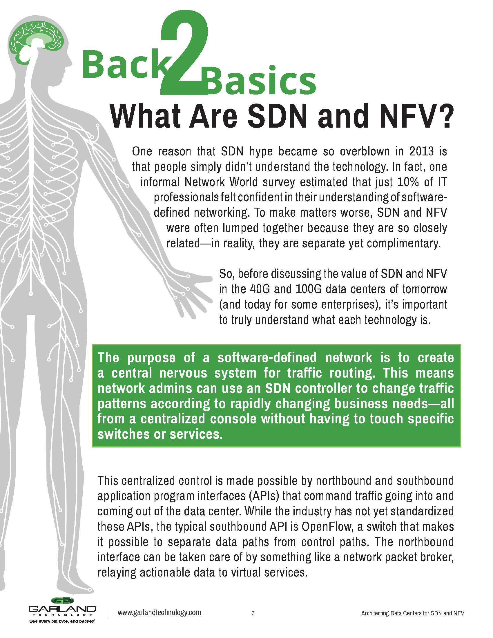 Architecting Data Centers for SDN & NFV