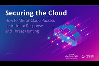 Mirror cloud packets for incident response and threat hunting
