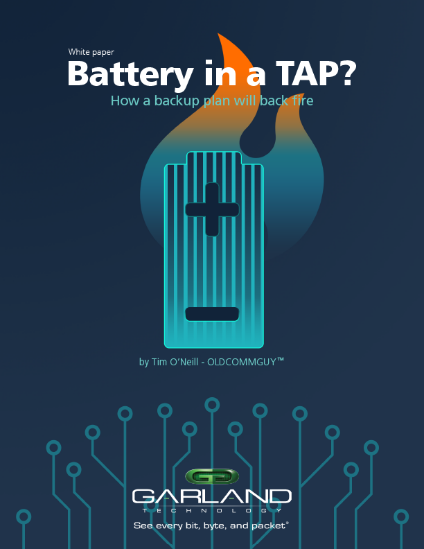 Battery in a TAP and in my Network