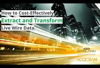 How to cost effectively extract and transform live wire data Accedian