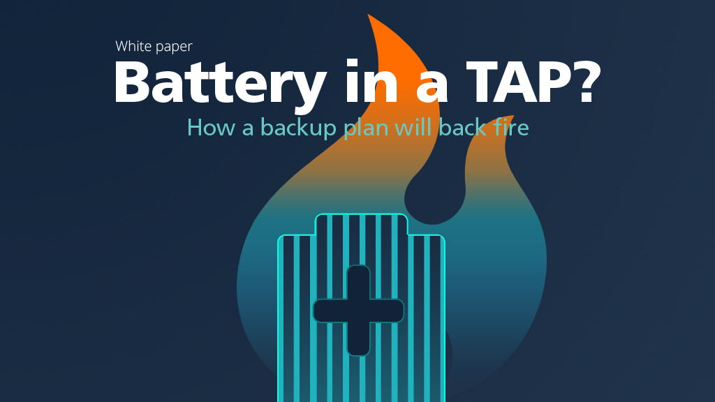 Battery in a TAP