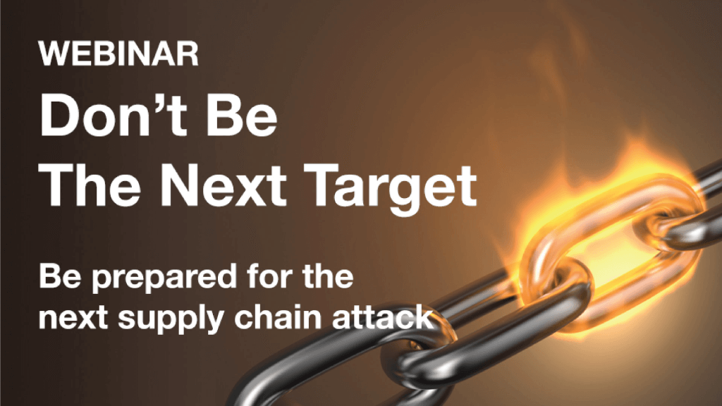 Webinar: Don't Be The Next Target