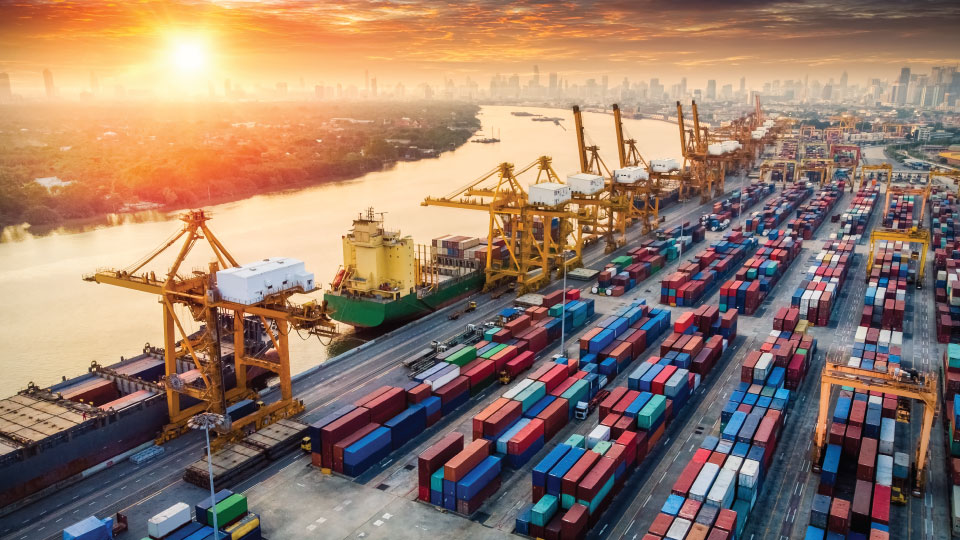 shipping dock network security